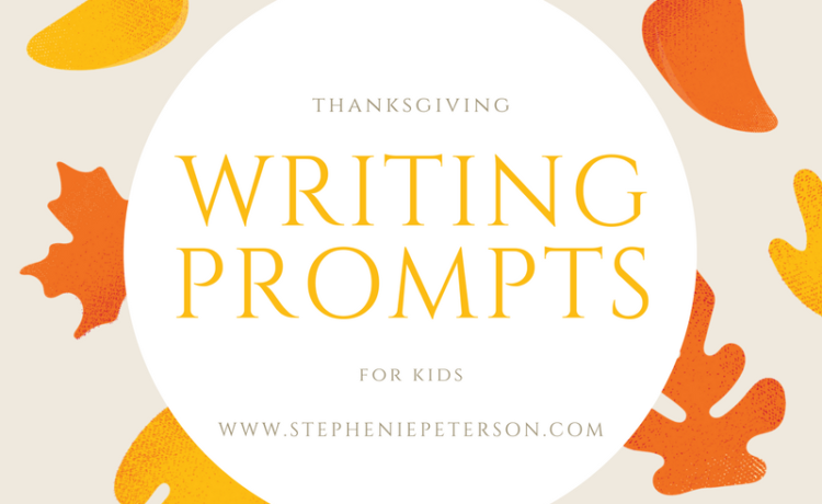 Get your kids writing this Thanksgiving with these writing prompts!  On Thanksgiving morning, you wake up and find that you are not in your bed. You are in a pen, on a farm, and you have a lot of feathers. You're a turkey and the farmer is hungry! What do you do? Your mom […]