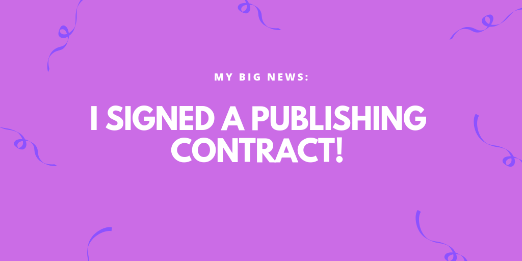 I Have a Publishing Contract!